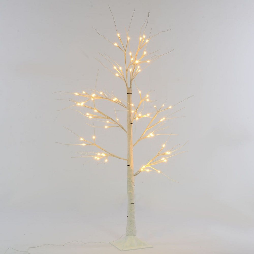 Led Light Up 1 25 White Birch Twig Tree Indoor Amp Outdoor